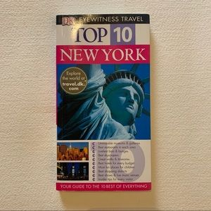 Top 10 New York travel guide book